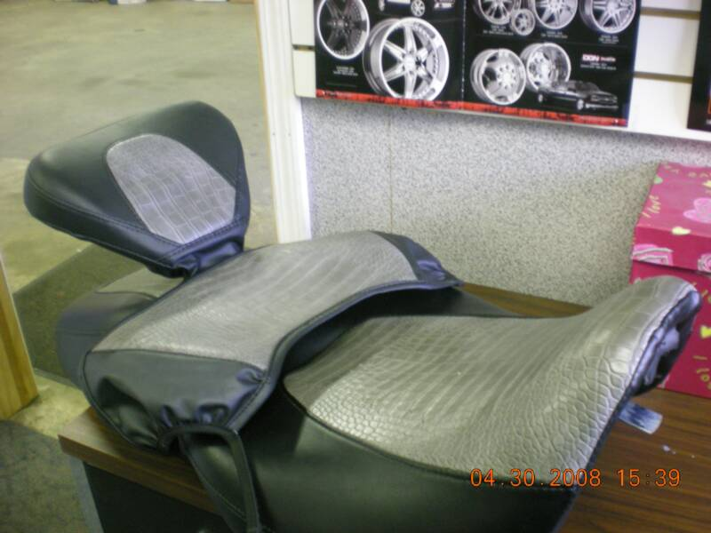 Motorcycle Seat Upholstery Gel Cushions Nw Indiana